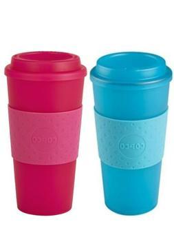 Copco Acadia Translucent Reusable Plastic Coffee Travel Mug