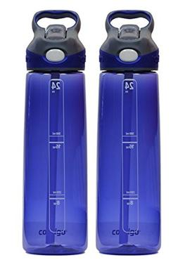 Contigo 24oz Addison Water Bottles, Cobalt