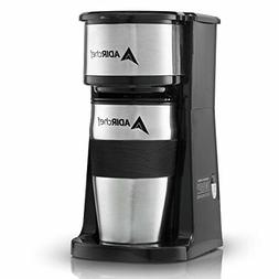 AdirChef Grab N' Go Personal Coffee Maker with 15 oz. Travel