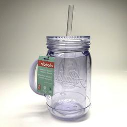 Aladdin Classic Insulated Mason Tumbler 20oz, Clear by Pacif