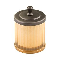 InterDesign Alston Small Canister, Amber