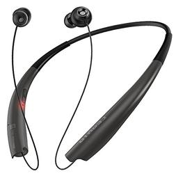 Legato Bluetooth Headphones Neckband Retractable Bluetooth H