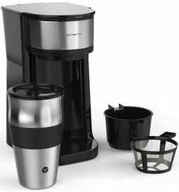 Single Serve Personal Coffee Maker Machine Auto Shut Off Fre