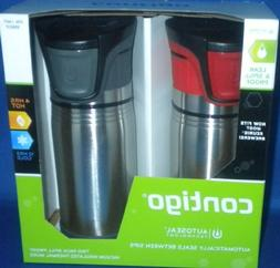 Contigo AUTOSEAL® Sport Stainless Steel Travel Mug 2 pack R