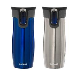 Contigo AUTOSEAL West Loop Stainless Steel Travel Mug with O