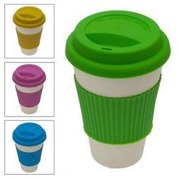 Bamboo Biodegradable Travel Mug Tumbler Eco-friendly Renewab