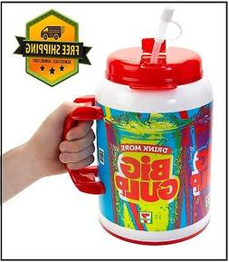7-Eleven Big Gulp Foam Insulated Travel Mug, 100 Ounces, Red