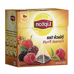 Lipton Black Tea - Forest Fruit - Premium Pyramid Tea Bags
