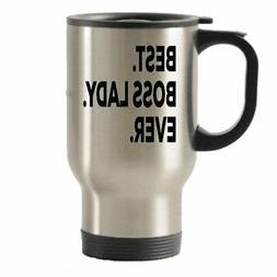 Boss Lady Travel Mug - Best Gifts - Travel Insulated Tumbler
