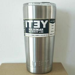 Brand New Yeti Rambler Tumbler 20oz Stainless Steel with Lid