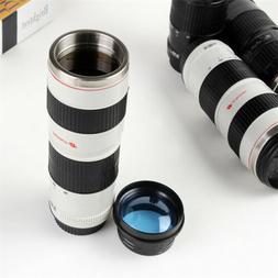 Camera Lens Coffee Mug Stainless Steel Travel Lens Mug Therm