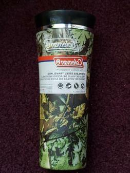 Camouflage Coleman Travel Mug Hot/Cold Beverages  14 oz
