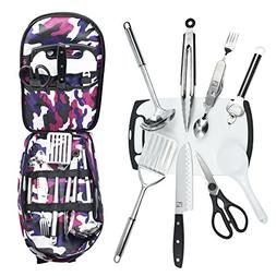 Wellmax Camping Cookware Set   Become an Outdoor Chef and Ca
