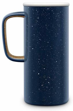 Ello Campy Vacuum-Insulated Stainless Steel Travel Mug-Navy