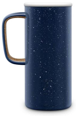Ello Campy Vacuum-Insulated Stainless Steel Travel Mug Navy