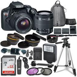 Canon EOS Rebel T6 Digital SLR Camera with Canon EF-S 18-55m