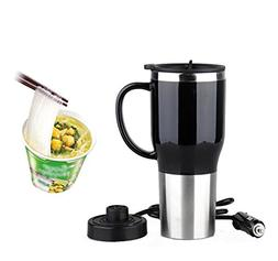 Hot Water Heater Mug for Car - Car Electric Kettle Heated St