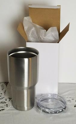 Case of 12 double wall 30oz stainless steel vacuum insulated