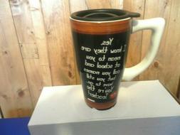 Ceramic Teacher Travel Mug