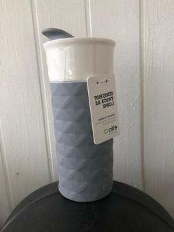 Ceramic Travel Mug With Lid Insulated Coffee Drink Ello Ogde