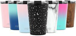 Simple Modern Classic Tumbler with Flip Lid & Straws Insulat