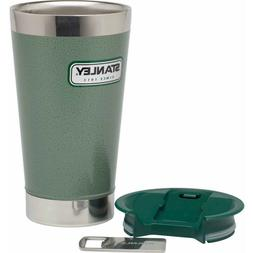 Stanley Classic Vacuum Pint 16oz Hammertone Green