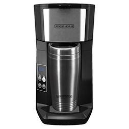 BLACKDECKER CM625B Programmable Single Serve Coffee Maker wi