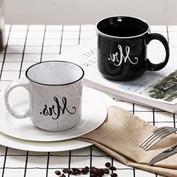 CEDAR HOME Travel Coffee Ceramic Mug Funny Tea Cup Enamel Pa