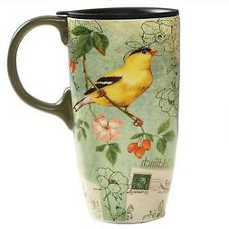 CEDAR HOME Coffee Ceramic Mug Porcelain Latte Tea Cup With L
