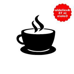 Coffee Cup Decal for Yeti, Car, Truck, Tumbler, Travel mug