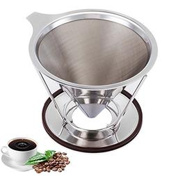 Pour Over Coffee Dripper Clever Coffee Dripper Reusable Coff