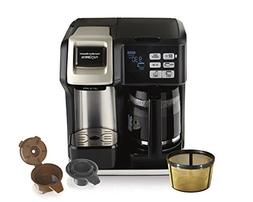 Hamilton Beach  FlexBrew Coffee Maker, Single Serve & Full C