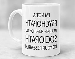 KISKISTONITE 11 Ounces Coffee Mug- Sherlock Holmes Mug, I'm