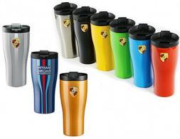 Porsche Coffee Tea Cup Travel Mug Thermal Insulating Double