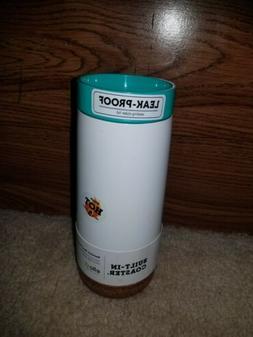 Ello Cole Vacuum-Insulated Stainless Steel Travel Mug, Teal,