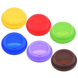 COSMOS Pack of 6 Anti-Dust Spill Proof Silicone Replacement