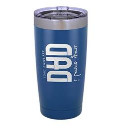 Personalized Dad Father Gift Double Wall Tumbler Drinking Th