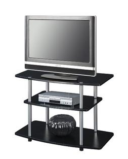 Convenience Concepts Designs2Go 3-Tier TV Stand for Flat Pan
