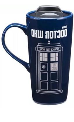 Doctor Who 20 Oz. Heat Reactive Ceramic Travel Mug