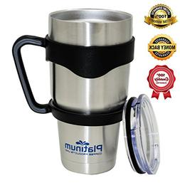 Premium Double Stainless Steel Tumbler with Handle Vacuum Do