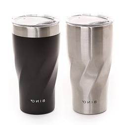 BINO Double Wall Vacuum Insulated Stainless Steel 20 oz Trav