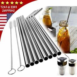 Drinking Straws Stainless Steel Tumbler For YETI Cup Travel