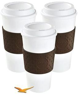 Copco Eco-First Acadia Reusable To Go Mug BPA-Free, Brown -