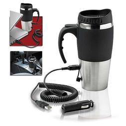 Excalibur Electronic USB Travel Mug/ Black - 494