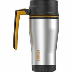 Thermos ELEMENT5 16 Ounce Double Wall Travel Mug Stainless S