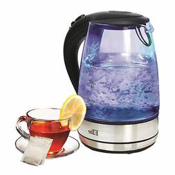 Elite Platinum EKT-200 1.7 L Cordless Glass Tea Kettle