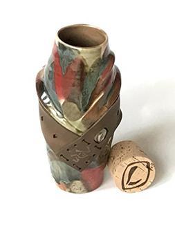 Elysium ceramic travel mug cup coffee artistic hand made uni