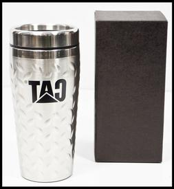CAT Caterpillar Stainless Steel Insulated Beverage Mug Trave