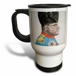 3dRose Etching Napoleon Bonaparte Emperor Historical Art SS