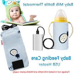 Feeding Bottle Heater  Travel Mug USB Warmer Milk Bottle Inf